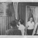 Mr Tang See Chim Unveiling The School's Official Opening Plaque, 11 September 1967